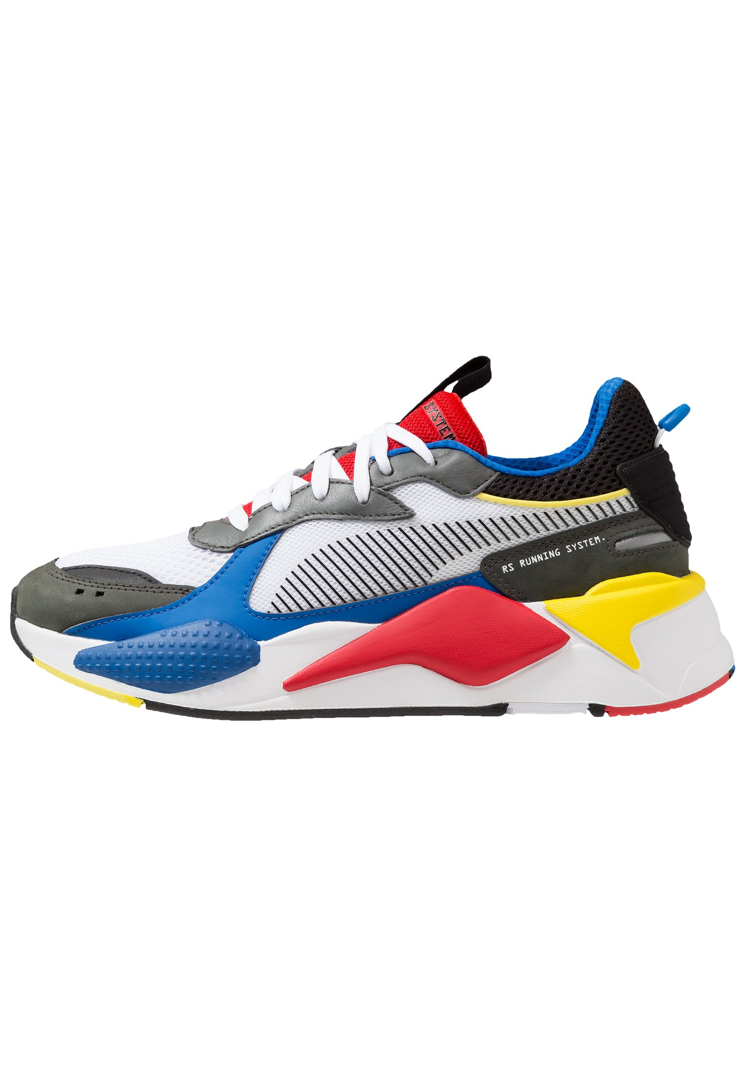 Puma RS-X TOYS - Sneakers laag - white/royal/high risk red ...