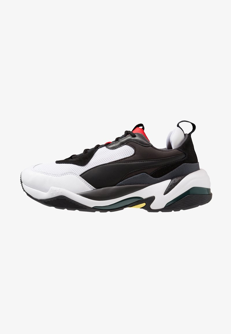 Puma - THUNDER SPECTRA - Sneakers laag - black/high risk red