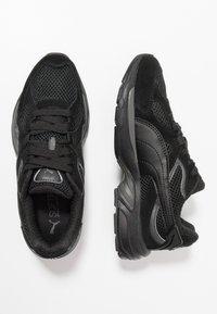 Puma - AXIS PLUS - Sneakers - black/asphalt - 1