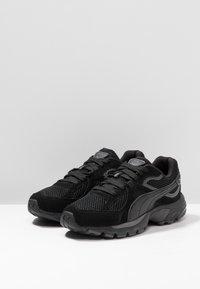 Puma - AXIS PLUS - Sneakers - black/asphalt - 2