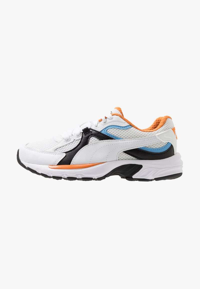 Puma - AXIS PLUS 90'S - Zapatillas - white/black/team light blue/jaffa orange