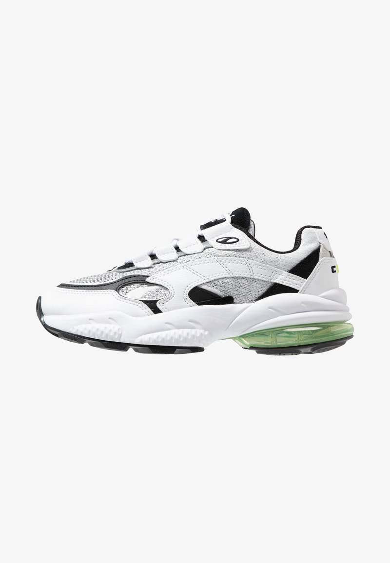 Puma - CELL ALERT - Sneakersy niskie - white/black