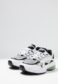 Puma - CELL ALERT - Sneakersy niskie - white/black - 2