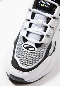 Puma - CELL ALERT - Matalavartiset tennarit - white/black - 5