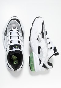 Puma - CELL ALERT - Sneakersy niskie - white/black - 1