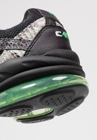 Puma - CELL KINGDOM - Sneaker low - black/steel gray - 5