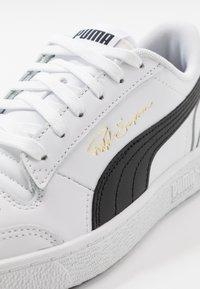 Puma - RALPH SAMPSON - Baskets basses - black/white - 5