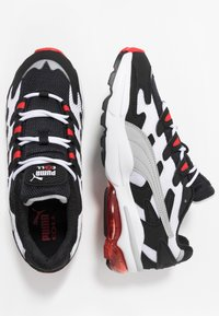 Puma - CELL ALIEN OG - Baskets basses - black/high risk red - 1