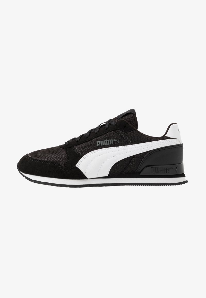 Puma - RUNNER - Trainers - black/white