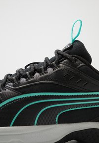 Puma - AXIS - Sneaker low - black/blue turquoise/castlerock/silver/high rise - 5