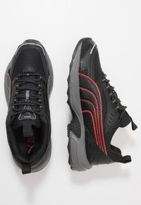 Puma - AXIS - Sneakers - black/high risk red/silver - 1