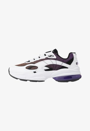 CELL LUX - Sneaker low - white/purple glimmer