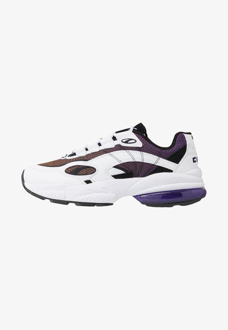 Puma - CELL LUX - Zapatillas - white/purple glimmer