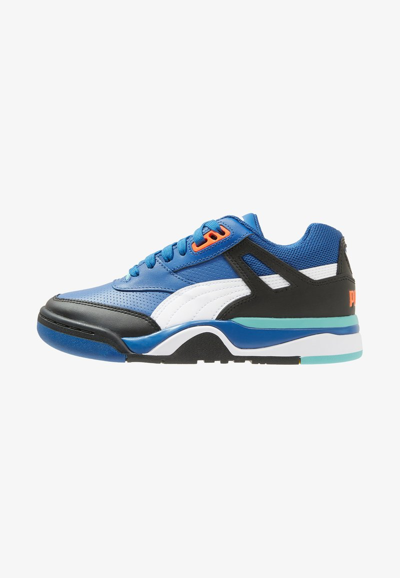 Puma - PALACE GUARD - Sneaker low - black/white/blue/turquoise
