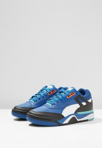 Puma - PALACE GUARD - Sneakers laag - black/white/blue/turquoise - 2