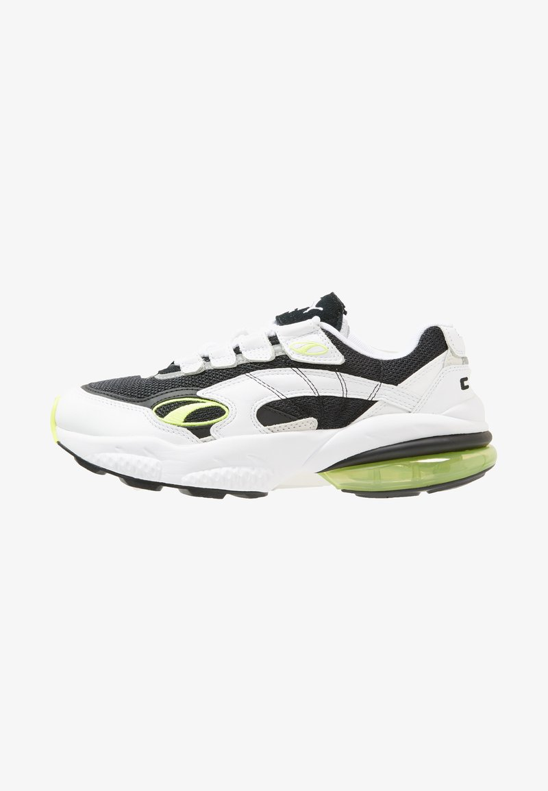 Puma - CELL - Sneaker low - white/yellow