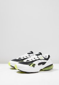 Puma - CELL - Sneaker low - white/yellow - 2