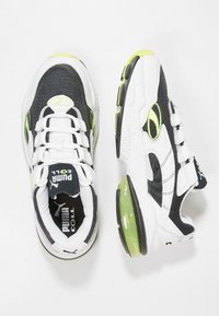 Puma - CELL - Sneaker low - white/yellow - 1