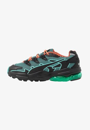 CELL ALIEN KOTTO - Sneakers - black/blue turquoise