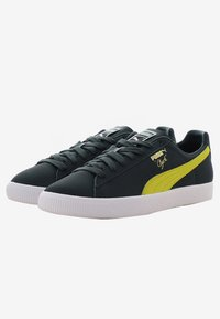 Puma - CLYDE CORE - Baskets basses - yellow/puma white - 2