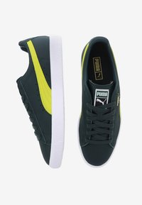 Puma - CLYDE CORE - Baskets basses - yellow/puma white - 1