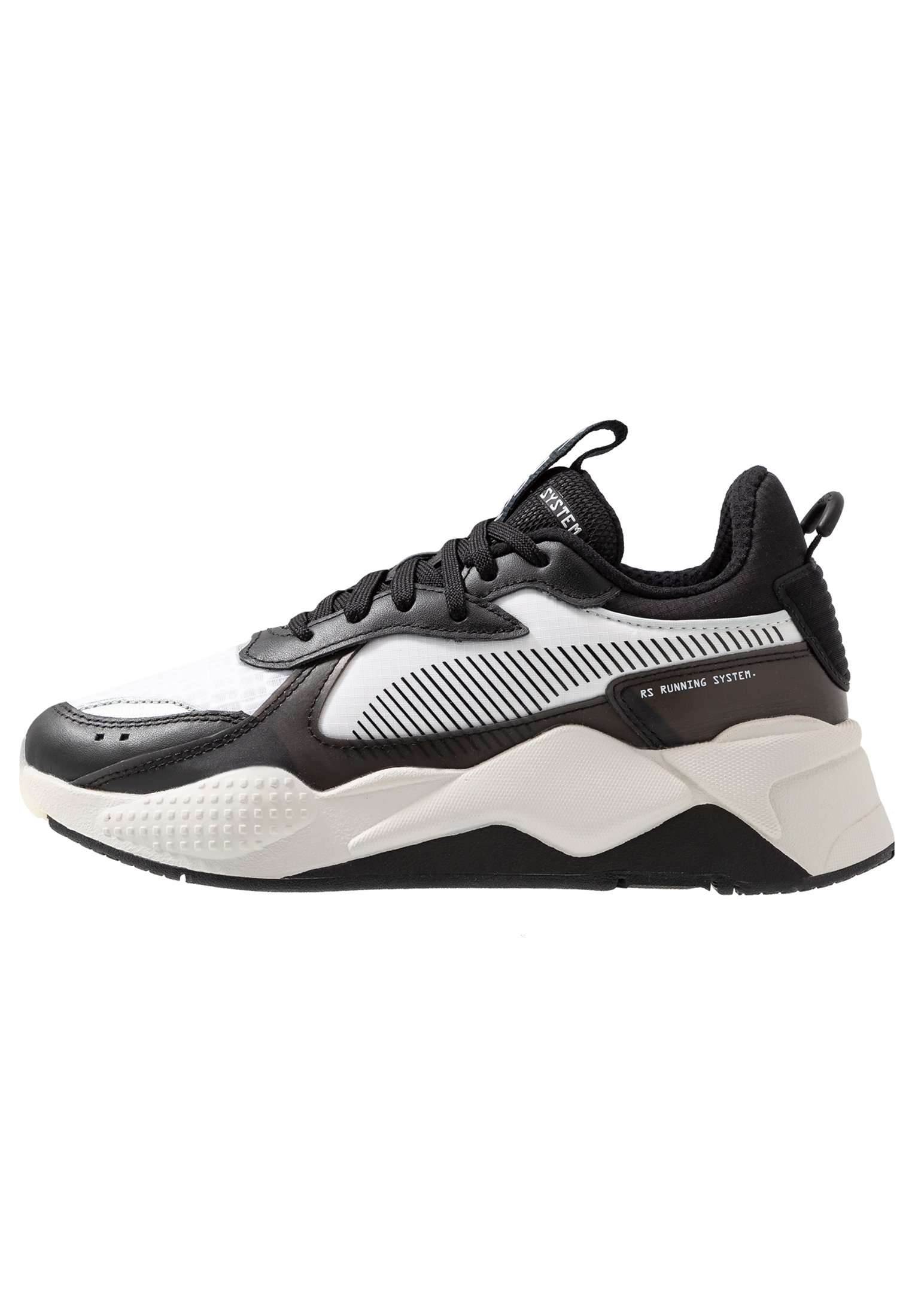RS-X TECH - Trainers - black/vaporous gray/white