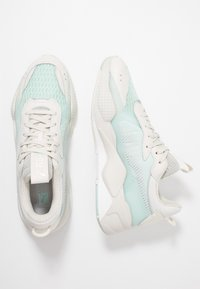Puma - RS-X TECH - Sneakers laag - vaporous gray/fair aqua - 1