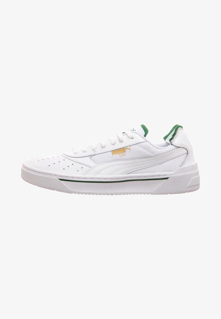 Puma - CALI - Sneakers basse - white/green