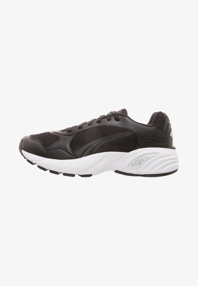 Puma - Sneaker low - black / white