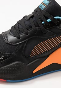 Puma - RS-X X TETRIS - Baskets basses - black/luminous blue - 5