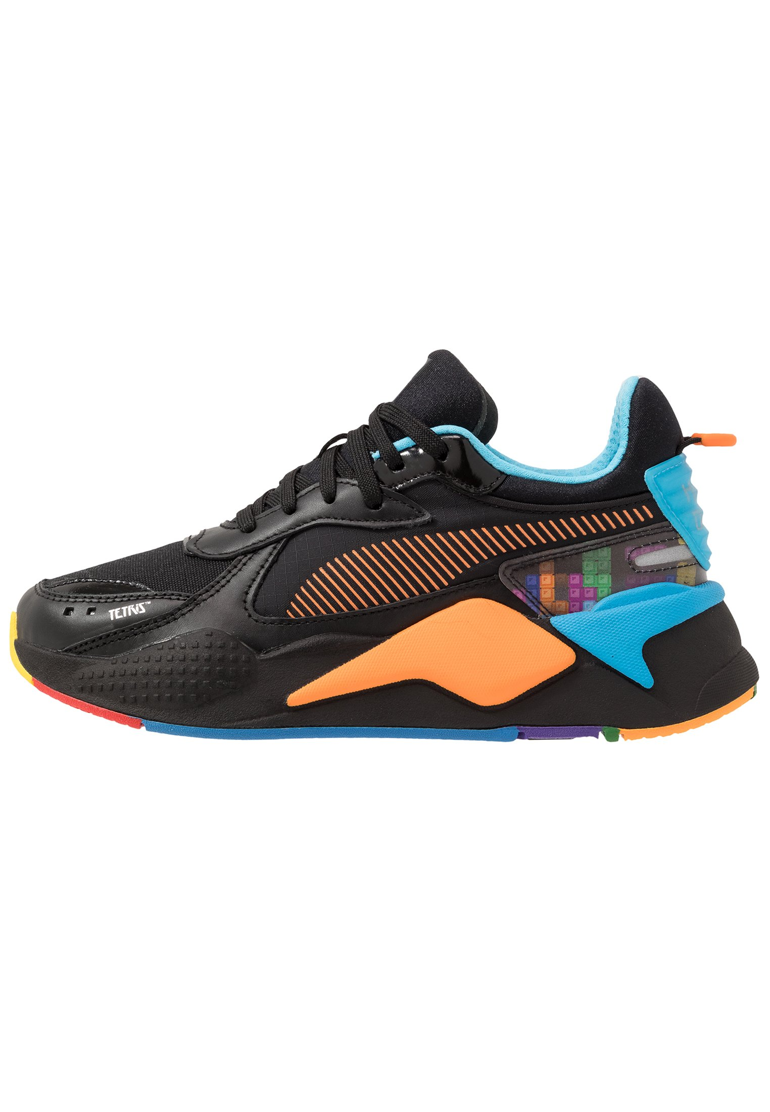 RS-X X TETRIS - Sneakers laag - black/luminous blue