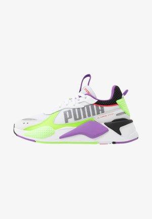 RS-X BOLD - Zapatillas - white/green gecko/royal lilac
