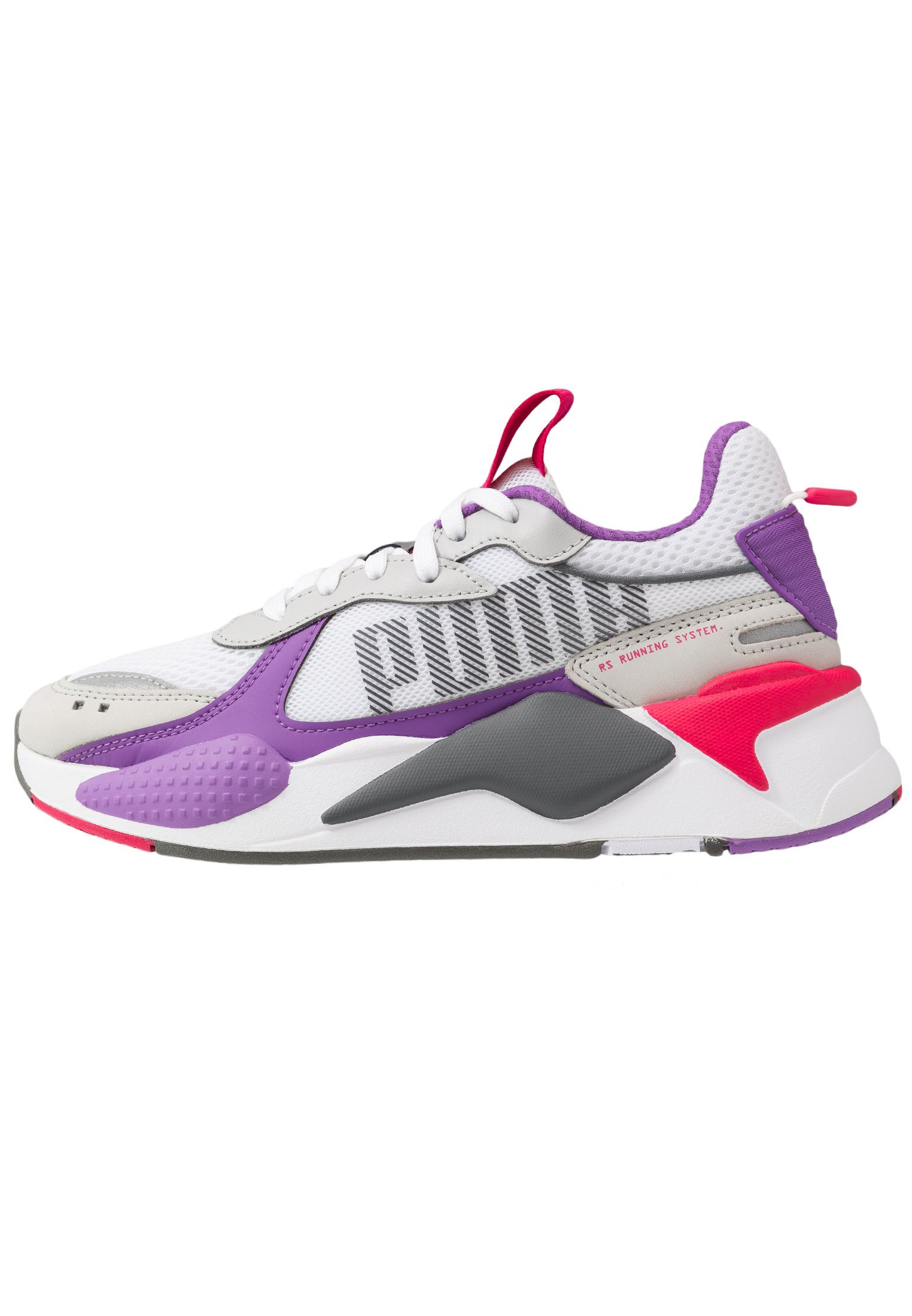 RS-X BOLD - Sneakers laag - white/high rise/royal lilac