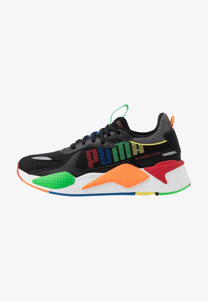Puma - RS-X BOLD - Sneaker low - black/andean toucan/orange popsicle