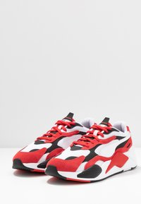 Puma - RS-X - Sneakers laag - white/high risk red - 2