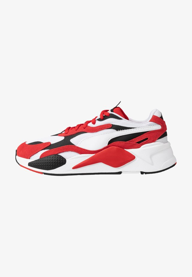 RS-X - Trainers - white/high risk red