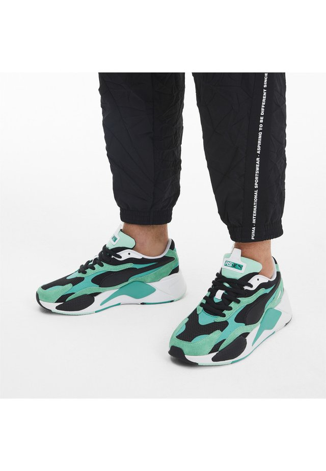 RS-X - Sneakers - green glimmer-puma black