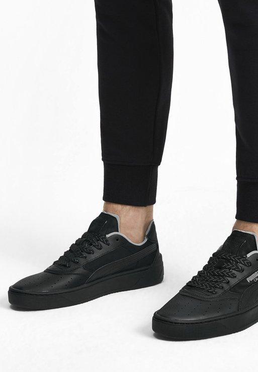 Puma - CALI-0 SHADOW TRAINERS UNISEX - Sneakers basse - black