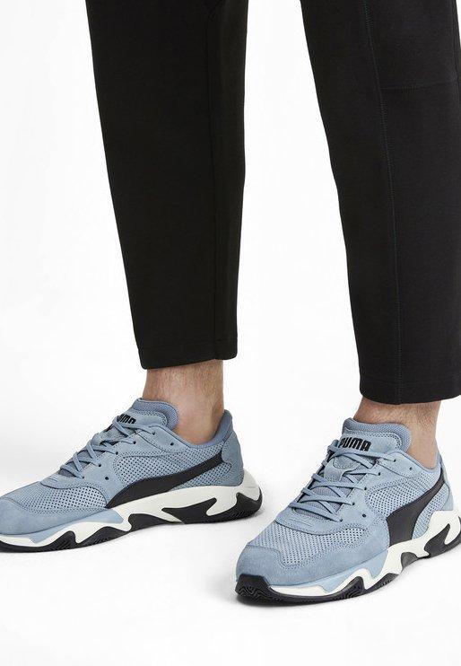Puma - STORM STREET - Sneakers laag - blue