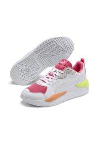 Puma - X-RAY GAME - Baskets basses - white-bubblegum-plein air-ca - 2