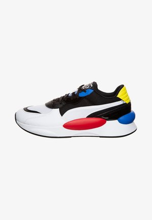 Trainers - puma white / puma black / palace blue