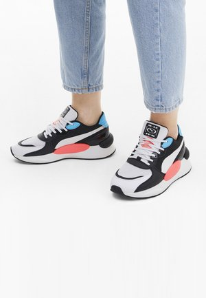 RS 9.8 FRESH SNEAKER - Baskets basses - white/pblack/blue atoll