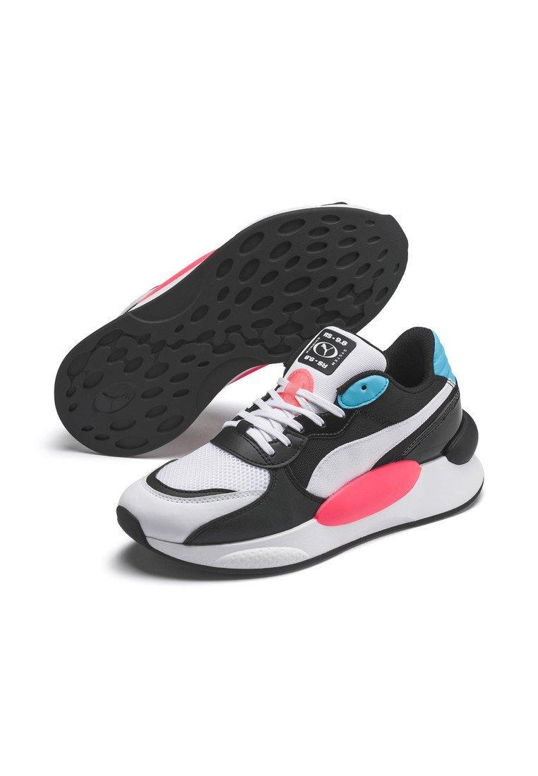 Puma RS 9.8 FRESH SNEAKER - Sneakers - white/pblack/blue atoll