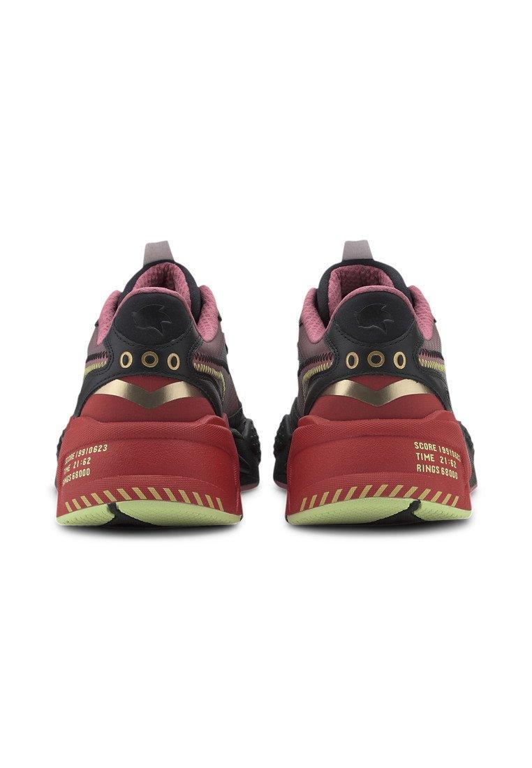 Puma Sneakers laag blackhigh risk red Zalando.nl