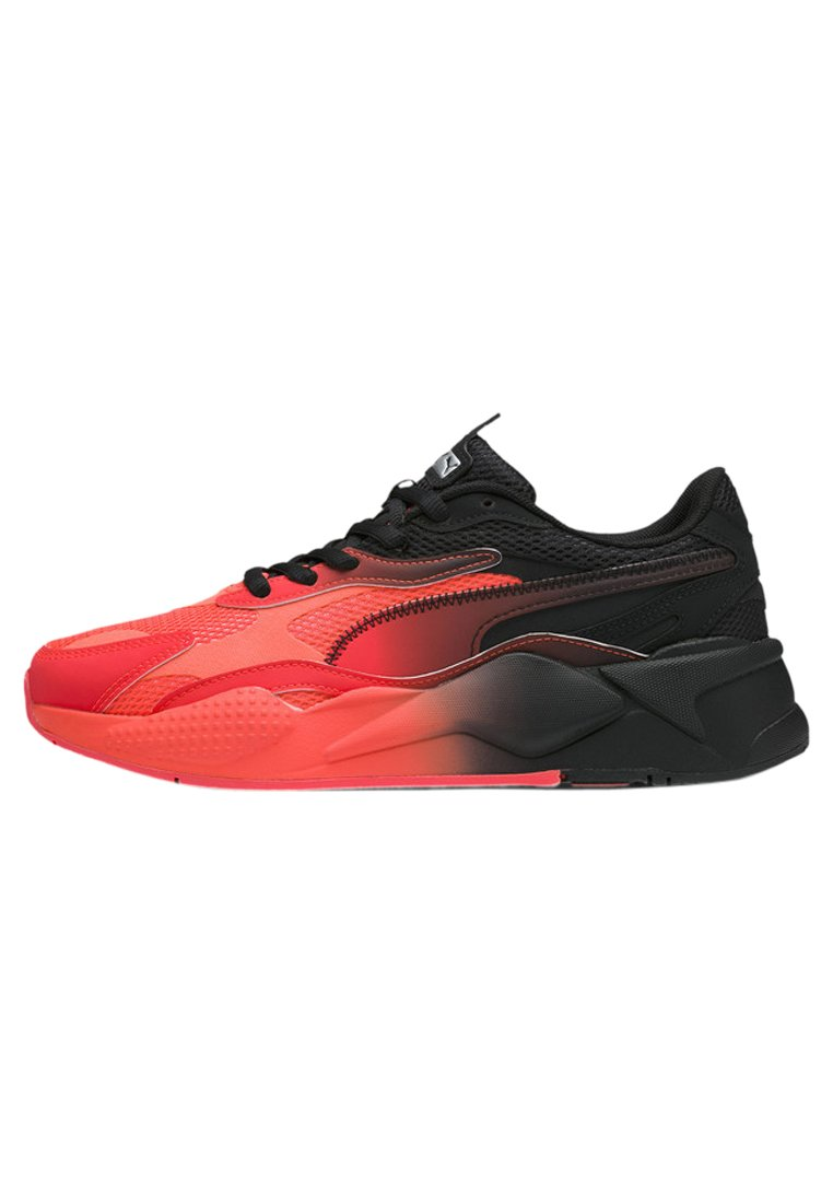 Puma - RS-X TACTICS - Baskets basses - lava blast- black-me silver