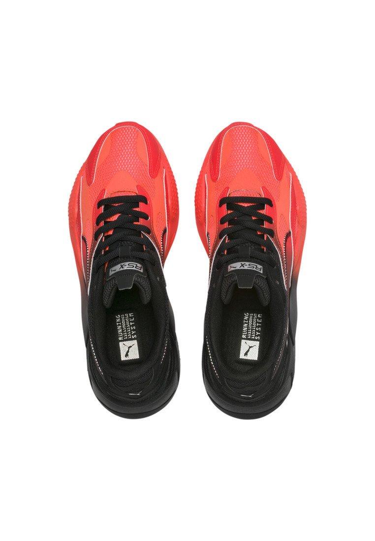 RS-X TACTICS - Sneakers laag - lava blast- black-me silver