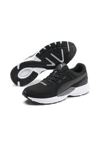 Puma - Sneakers basse - puma black-castlerock-white - 5