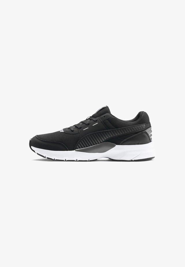 Sneakers - puma black-castlerock-white
