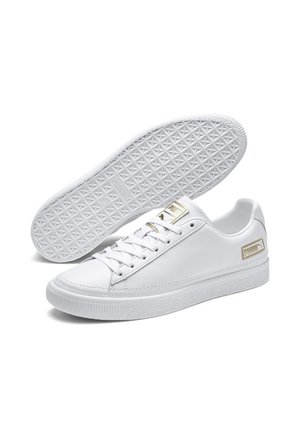 Trainers - puma white-gold