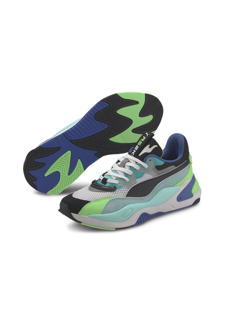 Puma Rs-2k Internet Exploring - Sneakers Basse Black-aruba Blue aiOp9